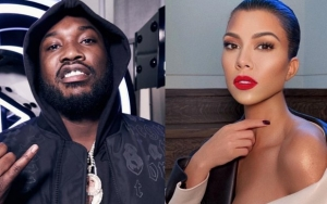 Meek Mill Hits on Kourtney Kardashian With Thirsty Instagram Comment