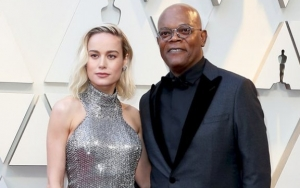 Brie Larson: Samuel L. Jackson Will Take T-Shirt Bearing His Face Off Journalists' Back