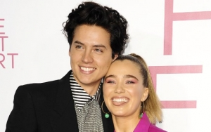 Cole Sprouse Cozies Up to Co-Star Haley Lu Richardson Despite Lili Reinhart's Presence
