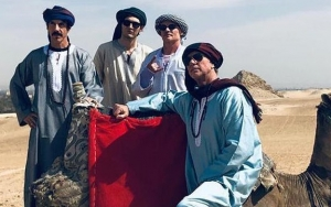 Red Hot Chili Peppers Rocked Egypt's Great Pyramid of Giza With Live Performance