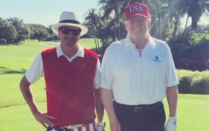 Kid Rock Thanks 'Down to Earth' Donald Trump for A Great Day of Golfing