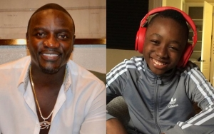 Akon Boosts Teen Son's Foray Into Music by Producing His First EP
