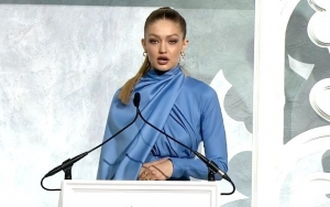 Watch: Gigi Hadid in Tears During Emotional Speech About 'True Gift of Identity'
