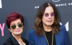 Sharon Osbourne Fights Back Tears While Talking About Husband's Bad Accident at Home