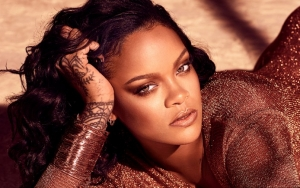 Rihanna, Reportedly Weighing Over 200 Pounds, Poses Seductively in New Fenty Promo Photos