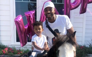 Tristan Thompson All Smiles in Rare Pictures With Son Prince