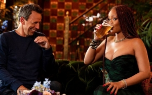 'Late Night With Seth Meyers' Teases Rihanna's Drunk Appearance in Upcoming Episode