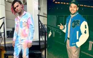 Internet Has Some Thoughts After Lil Pump Claims He's Mistaken for Chris Brown