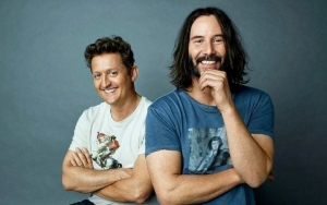 Keanu Reeves and Alex Winter Hit Phone Booth in First Set Photos and Video of 'Bill and Ted 3'