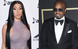 Cardi B Praised for Her NSFW Clapback to Jermaine Dupri Calling Female Rappers 'Strippers'