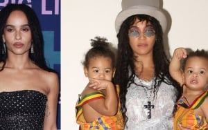 Zoe Kravitz Admires Beyonce for Channeling Lisa Bonet in Never-Before-Seen Halloween Photo