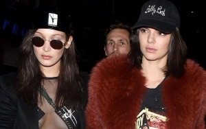 Kendall Jenner Wishes Bella Hadid a Happy Birthday With Video of Them Locking Lips
