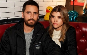 Scott Disick Leaves Cheeky Comment on Sofia Richie's Topless Photo