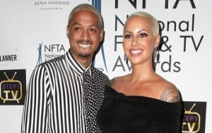 Amber Rose Spends Birthday Makeup-Free After Giving Birth, Baby Daddy Posts Sweet Note