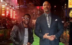 Kevin Hart Pokes Fun at Dwayne Johnson by Dressing Up as Him for Halloween