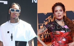 Tyga Leaves Gushing Comment on Halsey's Abs-Flaunting Instagram Post