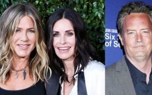 Here Is Jennifer Aniston's Response to Courteney Cox and Matthew Perry's Rare Selfie
