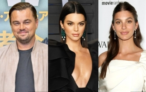 Leonardo DiCaprio and Kendall Jenner Acting Flirty While Partying Without His Girlfriend