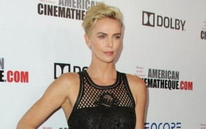 Charlize Theron Flashes Her Friends While Celebrating Her SAG Nomination