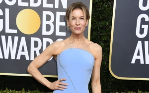 Renee Zellweger Admits to Hiding Twisted Ankle Under Golden Globes Dress on Red Carpet