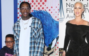 Wiz Khalifa and Amber Rose Throw Pennywise-Themed Birthday Party for Son