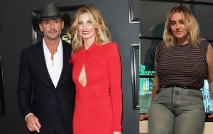 Tim McGraw's Daughter Grossed Out by His Flirty Compliment on Faith Hill's Butt