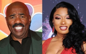 Twitter Goes Wild Over Steve Harvey and Megan Thee Stallion Mash-Up Video