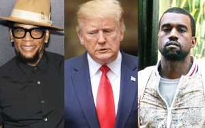 D.L. Hughley Slams Donald Trump and Kanye West: I've Seen Naked Pics of Their Wives!