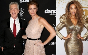 Tom Bergeron and Erin Andrews Appear to React to Tyra Banks Being Announced as New 'DWTS' Host