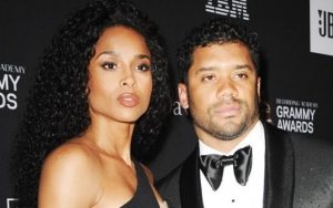 Russell Wilson Claims Ciara Nearly Broke His Hand While in Labor With Daughter