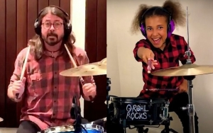 Dave Grohl Concedes Defeat to 10-Year-Old Girl in Drum Battle