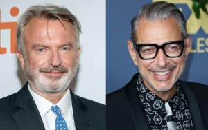 Watch Sam Neill and Jeff Goldblum Deliver Classics Medley on 'Jurassic Park' Set