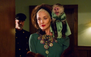Sharon Stone Brags About being Able to Communicate Clearly With Monkey Co-Star in 'Ratched'