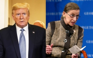 Donald Trump Slammed for Suggesting Ruth Bader Ginsburg's Family Lied About Her Dying Wish