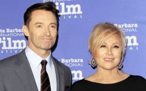 Hugh Jackman's Wife Laughs Off His Gay Rumors: 'He'd Be Pissed'