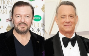 Ricky Gervais Calls Tom Hanks 'Privileged' for Thinking He's 'Above' Golden Globe Jokes