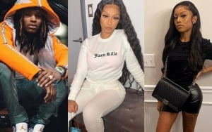 King Von's Sister and Cuban Doll Bite Each Other in Violent Brawl