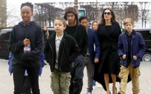 Angelina Jolie's Son Maddox Unveils Huge Snake Tattoo in Rare Intimate Look of Life at Home