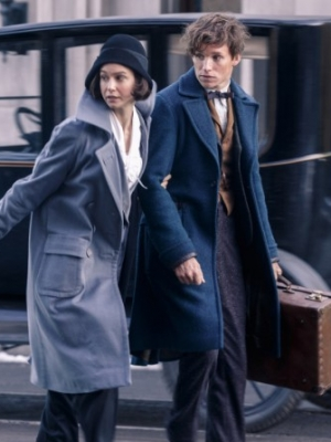 Eddie Redmayne and Katherine Waterston Frustrated by 'Fantastic Beasts' Sequel's Romance Plot