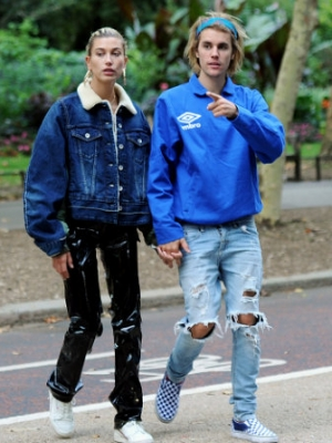 Justin Bieber and Hailey Baldwin Give a Whole Married Couple Vibe in London