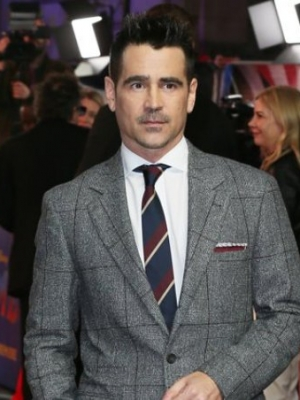 Colin Farrell's Hairstyle and Mustache Hint at Different Penguin Look for 'The Batman'