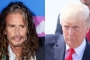 Steven Tyler Takes Legal Action to Stop President Trump From Using Aerosmith Song