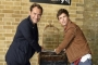 Eddie Redmayne and Jude Law Pay Surprise Visit to Platform 9 3/4 at King's Cross Station