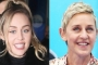 Miley Cyrus Celebrates Ellen DeGeneres' Birthday With 'Coming Out' Earrings