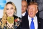 Madonna Chides Donald Trump for Focusing on Border Wall Instead of Gun Control