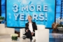Ellen DeGeneres Jokingly Blames Car Lease for Talk Show's Three-Year Extension