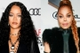 Rihanna Collects First British Fashion Award From Janet Jackson