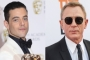 Rami Malek Believes He Earned His On-Set Kiss From Daniel Craig