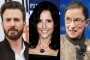 Chris Evans and Julia Louis-Dreyfus Pay Respect to Late Ruth Bader Ginsburg With Tributes