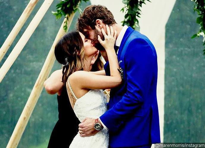 Maren Morris marries fiancé Ryan Hurd
